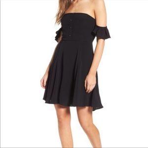 ASTR The Label Black Dress NWOT